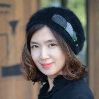 ★F/W 신상★구름따라-스타일리쉬 앙고라 블랙 비니