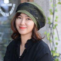 ★F/W 신상★러브토닉-2컬러 베레모 엔틱 레이스 우아한 두상커버 모자