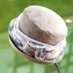 루이엘 <b><러브에코-모카></b> 또끄 비니 베레 챙없는모자 숏챙 정장모자 린넨모자 (2color)