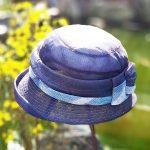 루이엘 <b><니어유Ⅱ></b> 가볍고 시원한 실크노방 차분한 컬러 선물용 모자 실크모자 숏챙  (2color)