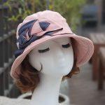 루이엘 <b><사랑의인사></b> 클로슈 세무 스웨이드모자 겨울외출모 여성벙거지 핑크색모자 핑크햇 (2color)
