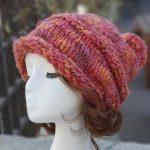 루이엘 <b><슈슈></b> 니트비니 니트빵모 챙없는모자 털모자 귀여운모자 (2color) 상품 이미지