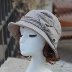루이엘 <b><파니니ss></b> 클로슈 등산모 짧은챙 소챙 외출용모자 여성벙거지 여성캐주얼 (2color)