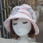 루이엘 <b><크로스하트></b> 클로슈 소챙모자 가벼운 모자 외출용모자 심플한모자 등산모자 상품 이미지