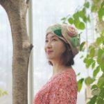 ★S/S 신상★루이엘 <b><숲의미소></b> 베레 챙없는모자 귀여운모자 꽃모자 장미모자