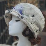 루이엘 <b><온리미></b> 클로슈 등산모 짧은챙 소챙 외출용모자 여성캐주얼 간절기모자 (2color) 상품 이미지
